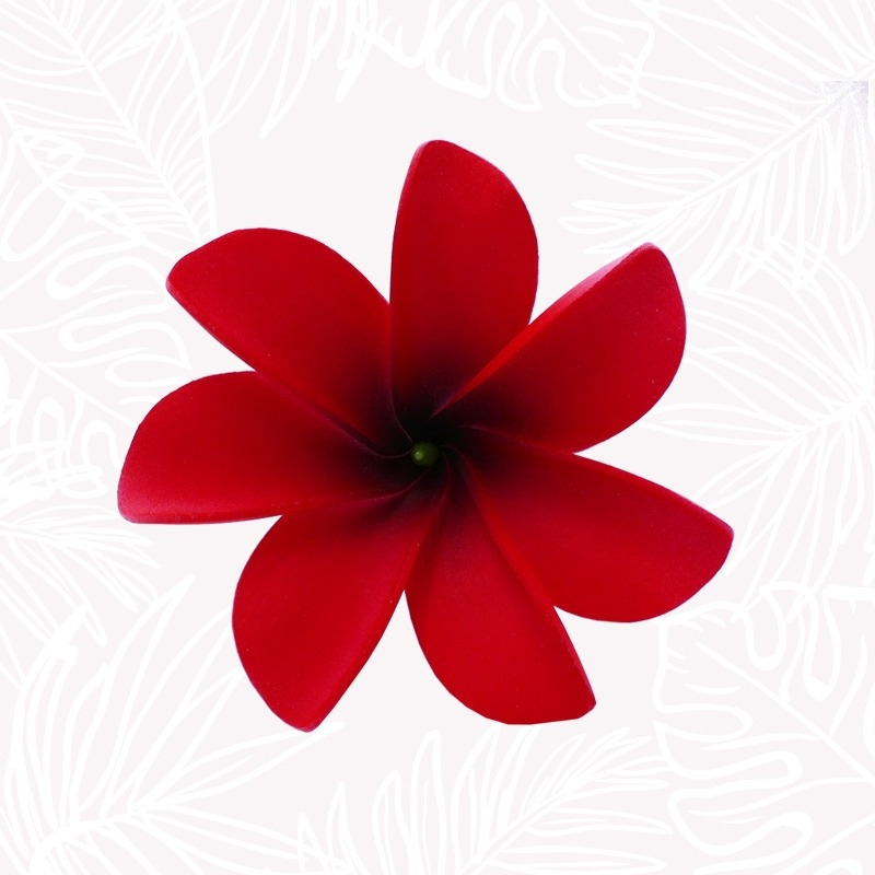 copy of Red Tiare Hair Flower