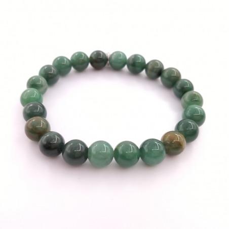 Bracelet Jade Africain 8mm