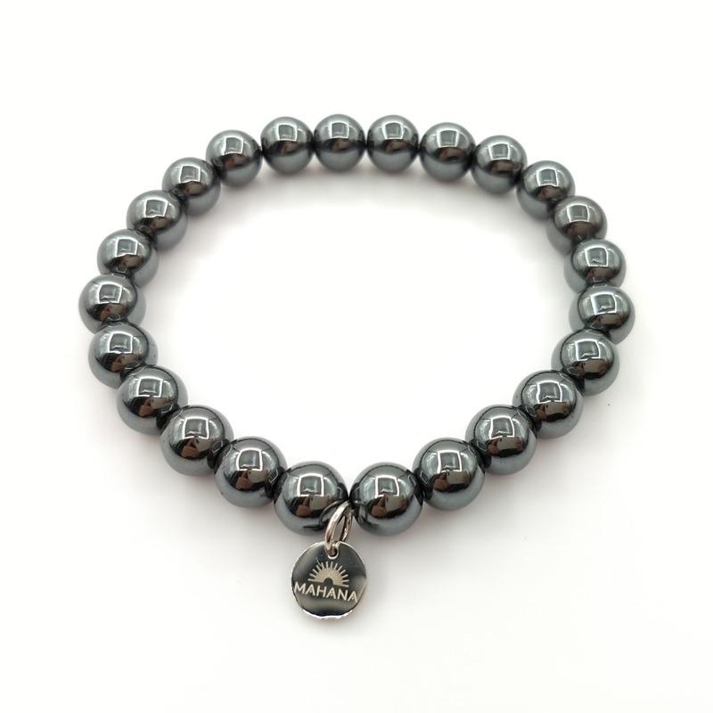 Bracelet Hematite 8mm