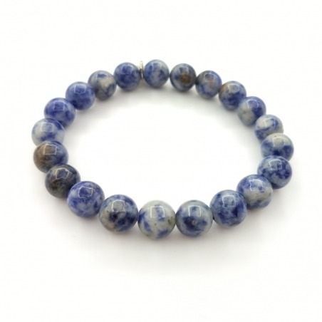 Bracelet Jaspe Bleu 8mm