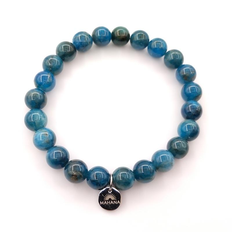 Bracelet Apatite Bleue 8mm