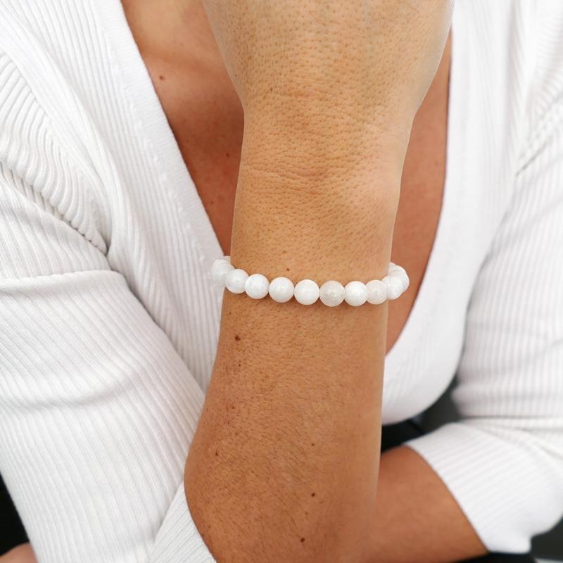 Bracelet Pierre de Lune 8mm