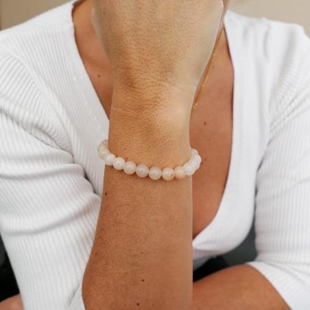 Bracelet Aventurine Rose 8mm