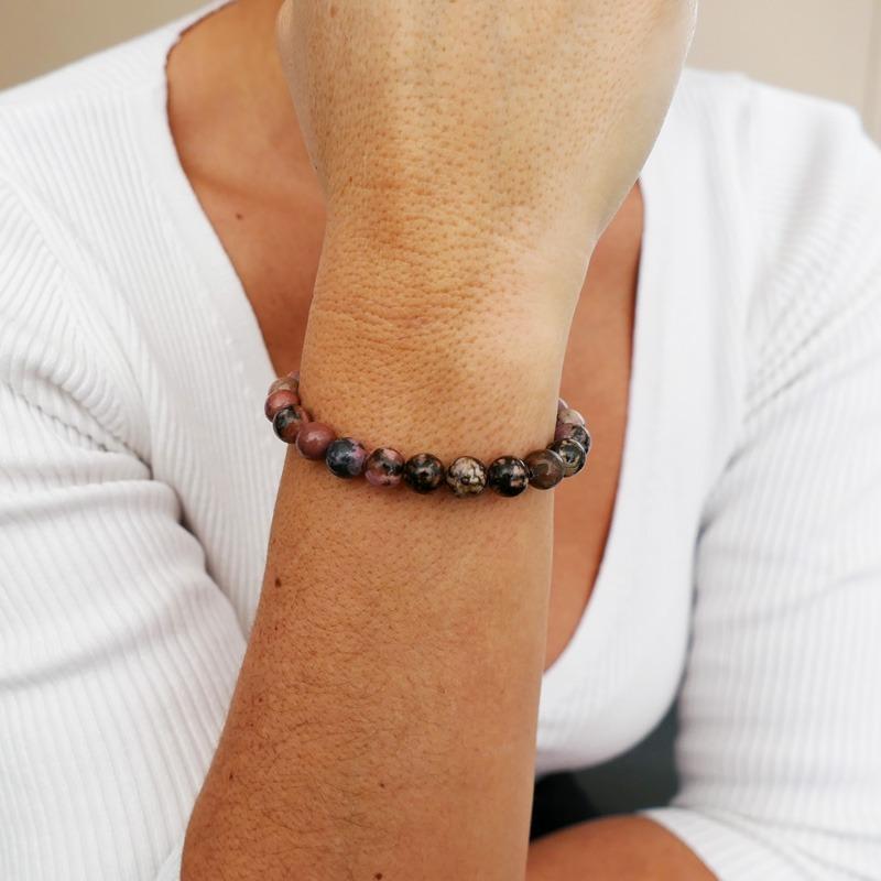 Bracelet Rhodonite 8mm