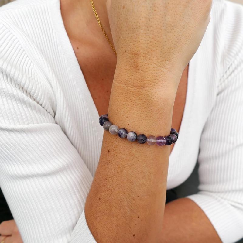 Bracelet Fluorite 8mm