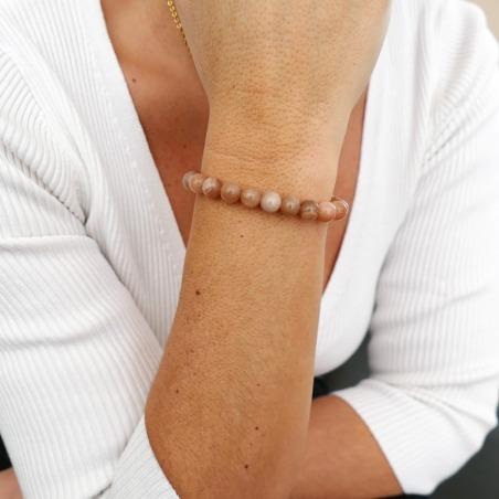 Bracelet Pierre de Soleil 8mm