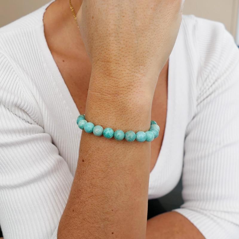 Bracelet Amazonite 8mm