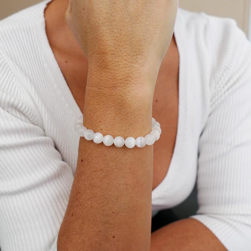 Bracelet Sélénite