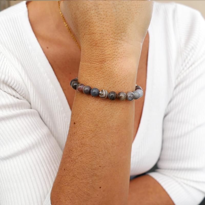 Bracelet Agate du Golfe...