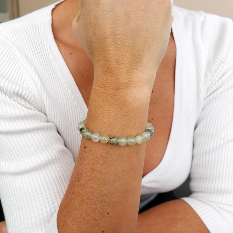 Bracelet Prehnite
