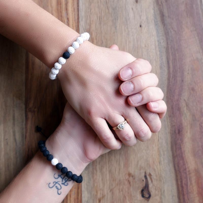 Bracelet Duo Yin & Yang