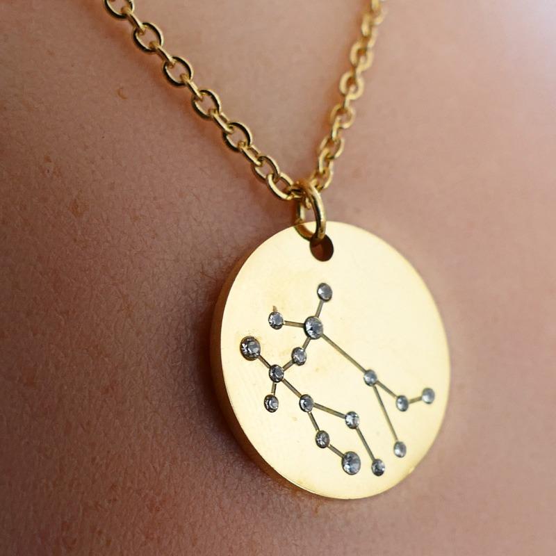 Collier Signe Astrologique Gémeaux