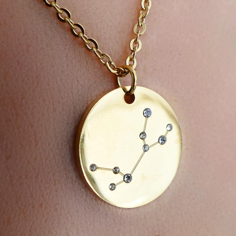 Collier Signe Astrologique Taureau