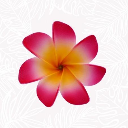 Fleur tiare rouge