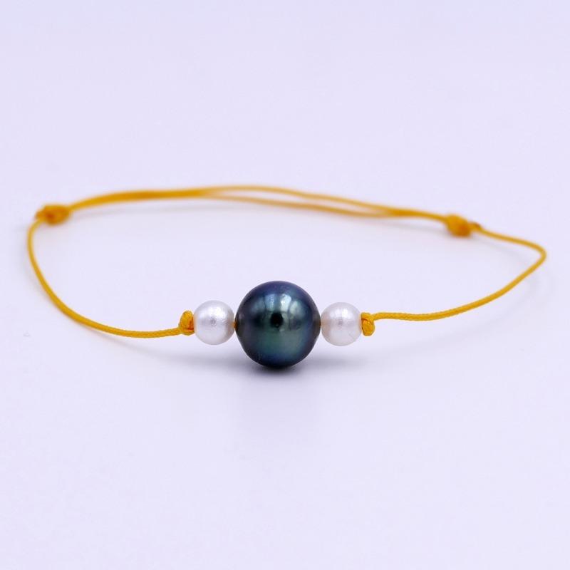 Bracelet Perle de Tahiti Jaune