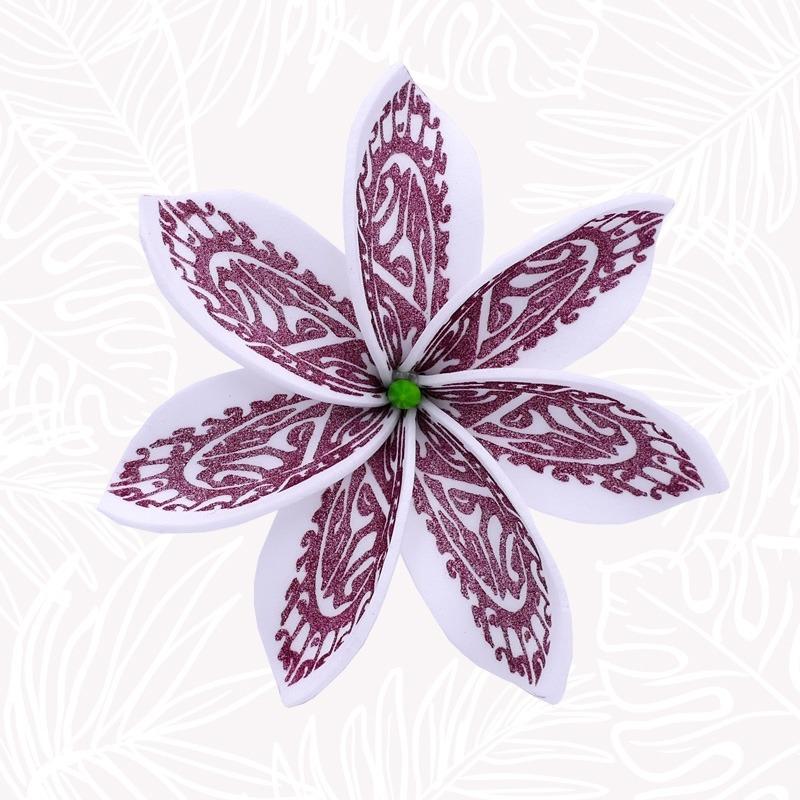 Fleur Cheveux Tiaré Tribal
