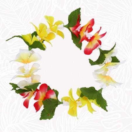 Couronne de fleurs Hawai