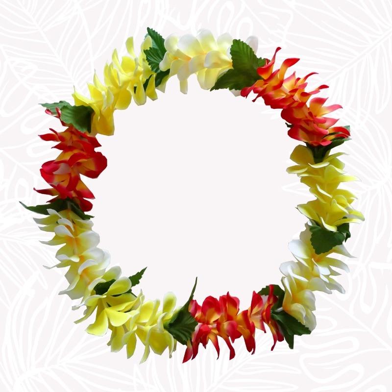 Collier de fleurs de Tahiti