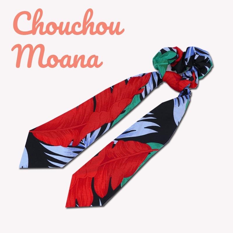 chouchou foulard moana